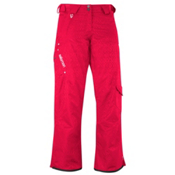 Salomon Superstition Womens Ski Pants, Cerise, medium