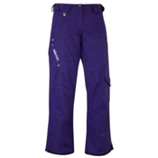 Salomon Superstition Womens Ski Pants, Eggplant, medium