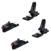 Knee Binding Carbon Wide Brake Ski Bindings 2017, Black, medium
