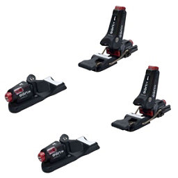 Knee Binding Carbon Wide Brake Ski Bindings 2017, Black, 256