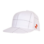 POC Checkered Cap Mens Hat, White, medium