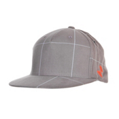 POC Checkered Cap Mens Hat, Grey, medium