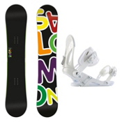 Salomon Drift Rocker Wide EX Snowboard and Binding Package, , medium