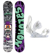 Salomon Sanchez Wide EX Snowboard and Binding Package, , medium