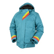 Obermeyer Alice Girls Ski Jacket, Cote D Azur, medium