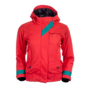 Obermeyer Alice Girls Ski Jacket, Poppy, medium