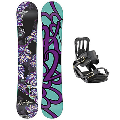 K2 Lunatique Spell Womens Snowboard and Binding Package, , large