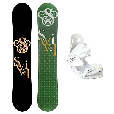 Swivel Logo S A5 Womens Snowboard and Binding Package, , large