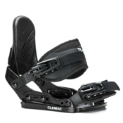 5th Element Stealth Kids Snowboard Bindings 2017, Black, medium
