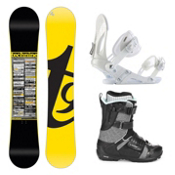 Tech Nine Team Dennison EX Strapper AC Complete Snowboard Package, , medium