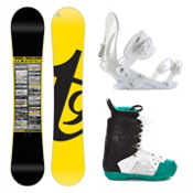Tech Nine Team Dennison EX Libertine Complete Snowboard Package, , medium