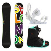 Salomon Drift Rocker Wide EX Faction FS Complete Snowboard Package, , medium