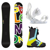 Salomon Drift Rocker Wide EX Scout Complete Snowboard Package, , medium