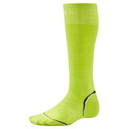 SmartWool PHD Ultra Light Ski Socks, Smartwool Green, 256