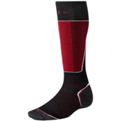 SmartWool PhD Racer Ski Socks, Black, medium