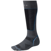SmartWool PhD Racer Ski Socks, Graphite, medium