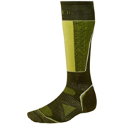 SmartWool PhD Racer Ski Socks, Loden, medium