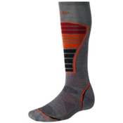 SmartWool PhD Ski Light Ski Socks, Graphite, medium
