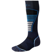 SmartWool PhD Ski Light Ski Socks, Navy, medium