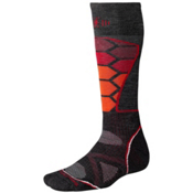 SmartWool PhD Ski Medium Ski Socks, Charcoal, medium