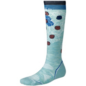 SmartWool PhD Ski Light Womens Ski Socks, Mineral, medium