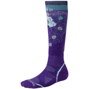 SmartWool PhD Ski Light Womens Ski Socks, Grape, medium