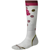 SmartWool PhD Ski Light Womens Ski Socks, Silver, medium