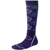 SmartWool PhD Medium Womens Ski Socks, Imperial Purple, medium