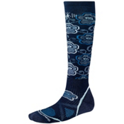 SmartWool PhD Medium Womens Ski Socks, Navy, medium