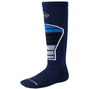 SmartWool Racer Kids Ski Socks, Navy, medium