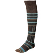 SmartWool Gleaming Seedling Womens Socks, Espresso Heather, medium