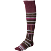 SmartWool Gleaming Seedling Womens Socks, Wine Heather, medium