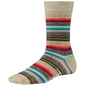 SmartWool Margarita Womens Socks, Oatmeal Heather, medium