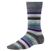 SmartWool Margarita Womens Socks, Medium Gray Heather, medium