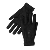 SmartWool Knit Glove Liners, Black, medium