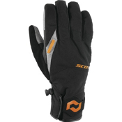 Scott Belmont Gloves, Black-Orange, medium