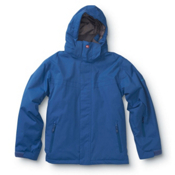 Quiksilver Last Mission Boys Snowboard Jacket, Royal Blue, medium