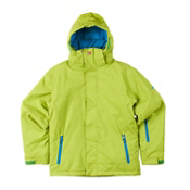 Quiksilver Last Mission Boys Snowboard Jacket, Lime, medium