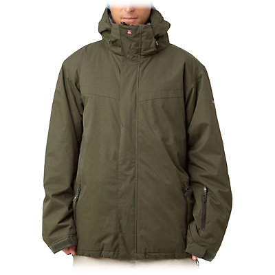 Quiksilver Last Mission Mens Insulated Snowboard Jacket, , viewer