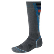 SmartWool PHD Light Snowboard Socks, Graphite, medium