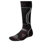 SmartWool PHD Light Snowboard Socks, Black, medium