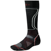 SmartWool PhD Snowboard Light Snowboard Socks, Black, medium