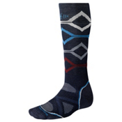 SmartWool PHD Medium Snowboard Socks, Navy, medium