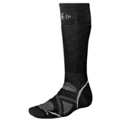 SmartWool PhD Medium Snowboard Socks, Black, medium