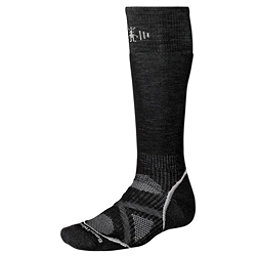 SmartWool PhD Medium Snowboard Socks, Black, 256