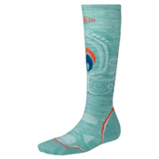 SmartWool PHD Light Womens Snowboard Socks, Mineral, medium