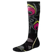 SmartWool PHD Medium Womens Snowboard Socks, Black, medium