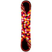 JoyRide Checkers Black Rocker Womens Snowboard, Black, medium
