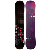 Swivel Sparkle Black Girls Snowboard, , medium
