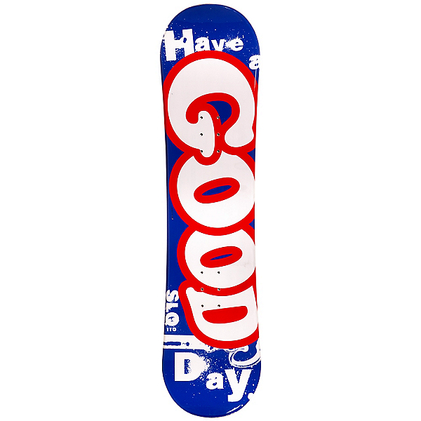 SLQ Good Day Boys Snowboard, Blue-Red, 600